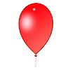 ID 3045501 | Красный воздушный шарик | Иллюстрация большого размера | CLIPARTO