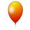 ID 3045504 | Оранжевый воздушный шарик | Иллюстрация большого размера | CLIPARTO
