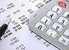 Rachunek finansowy | Stock Foto