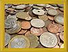 Rama i monety | Stock Foto