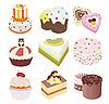 Vektor Cliparts: Kuchen