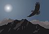 Vektor Cliparts: Adler