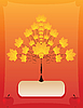 ID 3047102 | Stilisierter Herbstbaum | Stock Vektorgrafik | CLIPARTO