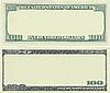 ID 3047839 | Muster-Rahmen aus 100-Dollar-Banknote | Foto mit hoher Auflösung | CLIPARTO