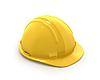 ID 3048115 | Gelbes Kunststoff-Helm oder Schutzhelm | Illustration mit hoher Auflösung | CLIPARTO
