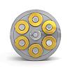 ID 3048196 | Revolver-Zylinder mit Kugeln | Illustration mit hoher Auflösung | CLIPARTO