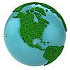 ID 3048919 | Globe trawy z Ameryki Północnej części | Stockowa ilustracja wysokiej rozdzielczości | KLIPARTO