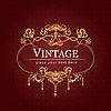 ID 3048672 | Vintage-Einladung | Stock Vektorgrafik | CLIPARTO