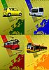 Verkehrsmittel | Stock Vektrografik