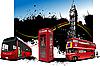 Autobusse in London