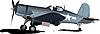 ID 3050197 | Stary wojskowy samolot bojowy | Klipart wektorowy | KLIPARTO