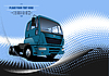 ID 3070026 | Poster mit Lkw | Stock Vektorgrafik | CLIPARTO