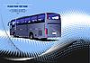 Poster mit Bus