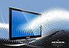 ID 3070064 | Flach-Monitor | Stock Vektorgrafik | CLIPARTO