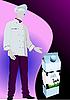 ID 3070322 | Produktów mlecznych w opakowaniach kartonowych i gotować | Klipart wektorowy | KLIPARTO