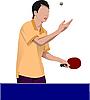 Tischtennis-Spieler