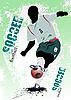 ID 3181302 | Poster mit Fußballspieler | Stock Vektorgrafik | CLIPARTO