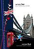 Abdeckung für Broschüre mitern London.