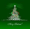 ID 3198468 | Weihnachten - Neujahr Baum. | Stock Vektorgrafik | CLIPARTO