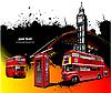 London Seltenheit roten.
