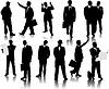Business-Menschen, Silhouetten | Stock Vektrografik