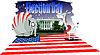 ID 3222848 | Wahltag in Amerika | Stock Vektorgrafik | CLIPARTO