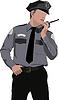 Polizist sagt am Rundfunk