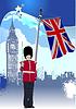 Hintergrund des Vereinigten Königreichs.