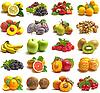 ID 3048235 | Set von leckeren Früchten | Foto mit hoher Auflösung | CLIPARTO