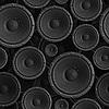 扬声器无缝背景 | 免版税照片