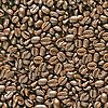 Кофе в зернах бесшовный фон | Фото