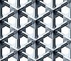 kristallische Würfel als nahtloses Muster