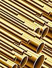 Векторный клипарт: золотые трубы