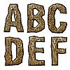 ID 3075503 | Деревянные буквицы | Иллюстрация большого размера | CLIPARTO