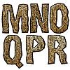 ID 3075505 | 木制的首字母 | 高分辨率插图 | CLIPARTO