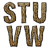 ID 3075506 | 木制的首字母 | 高分辨率插图 | CLIPARTO