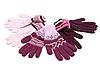 Rękawiczki w paski | Stock Foto