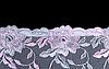 Rose z motywem koronki | Stock Foto
