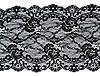 ID 3066218 | Czarne koronki z motywem kwiatowym | Foto stockowe wysokiej rozdzielczości | KLIPARTO