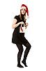 ID 3066382 | Красивая девушка в красной шапке Санта-Клауса | Фото большого размера | CLIPARTO