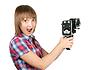 ID 3308280 | Piękne dziewczyny w kratę koszuli z kamery | Foto stockowe wysokiej rozdzielczości | KLIPARTO