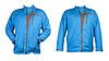 ID 3337386 | Un collage de dos azules chaqueta deportiva | Foto de alta resolución | CLIPARTO