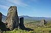 ID 3049187 | Majestätische Klippen von Meteora. Griechenland | Foto mit hoher Auflösung | CLIPARTO