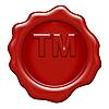 ID 3050094 | 蜡密封的字母商标标志 | 高分辨率插图 | CLIPARTO
