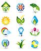 ID 3055806 | Natur-Icons | Stock Vektorgrafik | CLIPARTO