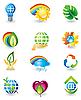 ID 3055808 | Natur-Icons | Stock Vektorgrafik | CLIPARTO