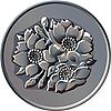 Японская иена сто монет
