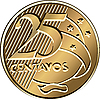 ID 3060132 | Brazilian dwadzieścia pięć monet centavo | Klipart wektorowy | KLIPARTO