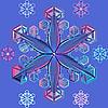 Снежинка | Векторный клипарт
