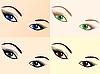 Zestaw oczy | Stock Vector Graphics